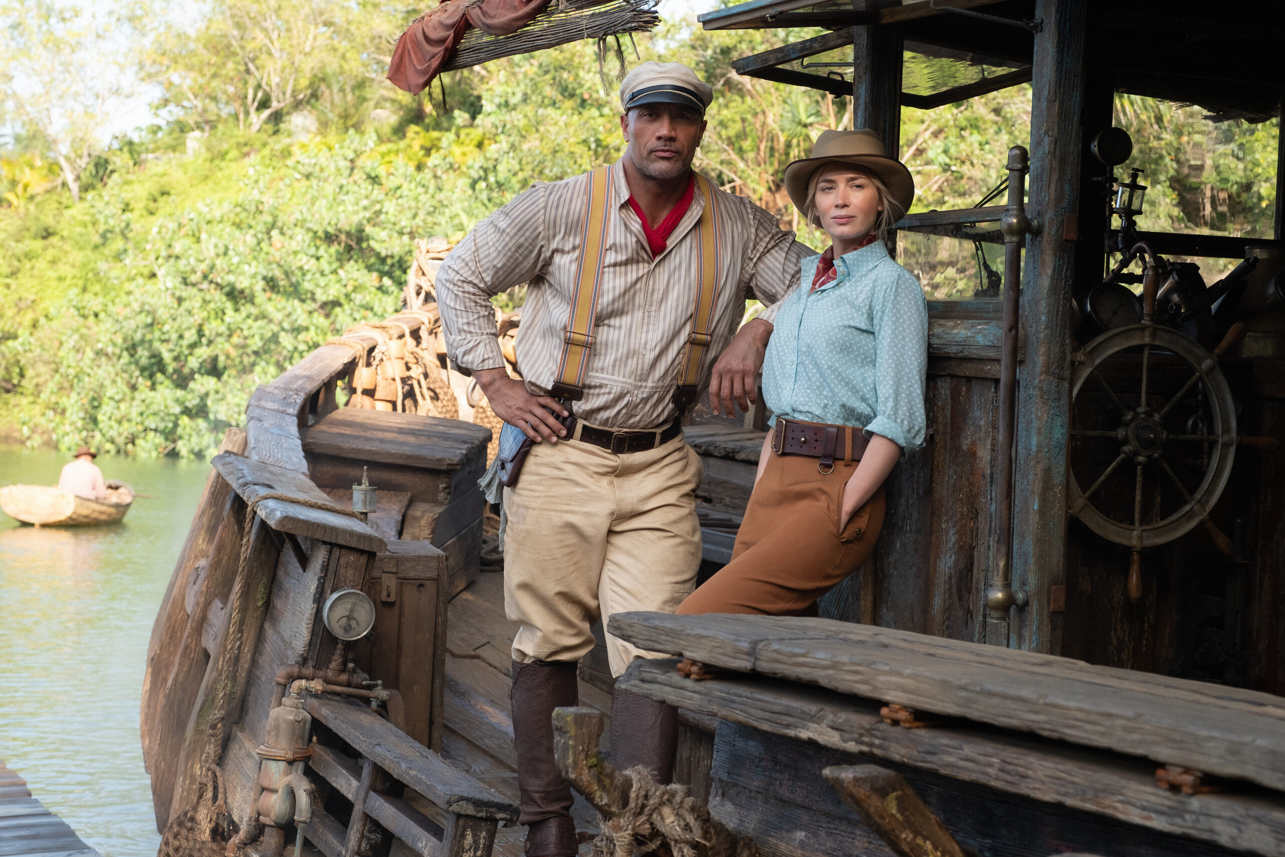Lily and Frank Jungle Cruise