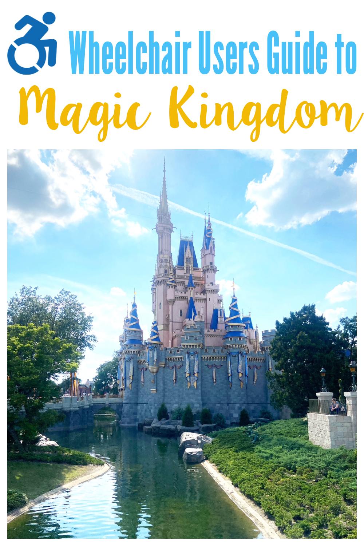 Wheelchair Users Magic Kingdom Disney World